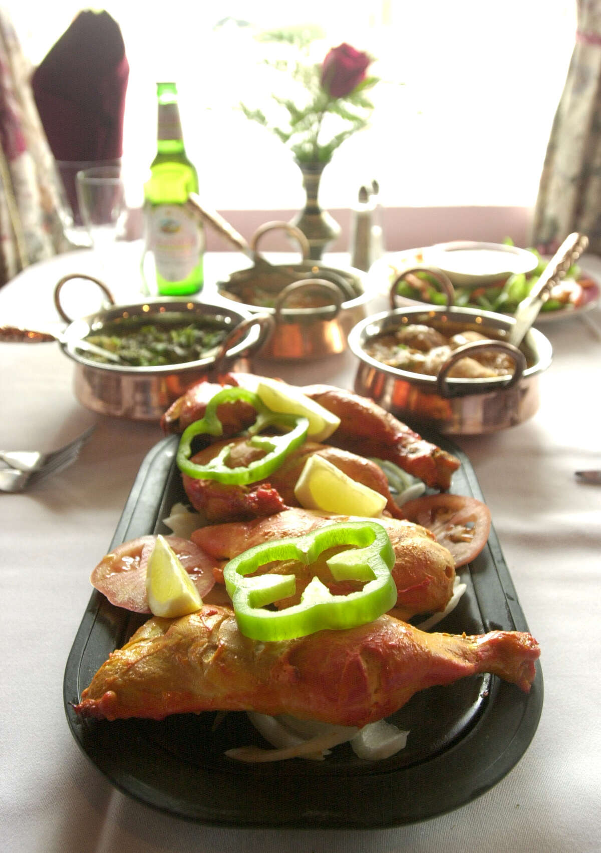 India Oven , 1031 Patricia, 210-366-1030, indiaoven.biz, will serve a Christmas Day Champagne lunch buffet 11 a.m. until 3 p.m. for $14.95 per person. The restaurant also will serve a candlelight dinner from 5-10:30 p.m.