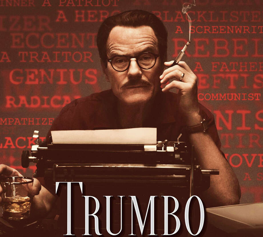 """Bryan Cranston portrays the movie screenwriter Dalton Trumbo, who was blacklisted during the Red Scare era, in the new movie, """"Trumbo."""" Photo: Contributed / Contributed Photo / Westport News"""