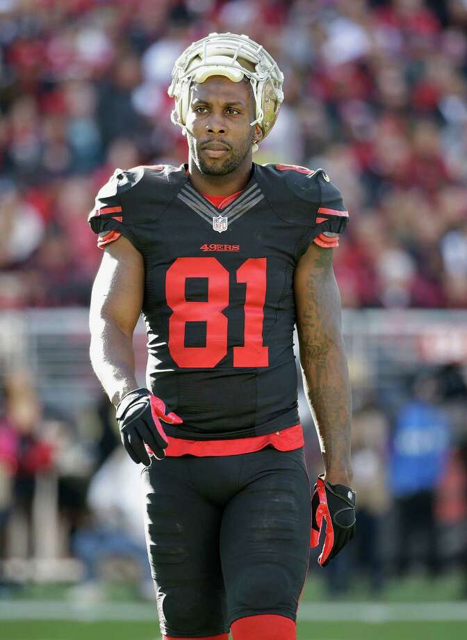 San Francisco 49ers wide receiver Anquan Boldin (81) against the Arizona Cardinals during the first half of an NFL football game in Santa Clara, Calif., Sunday, Nov. 29, 2015. (AP Photo/Marcio Jose Sanchez) Photo: Marcio Jose Sanchez / Associated Press / AP