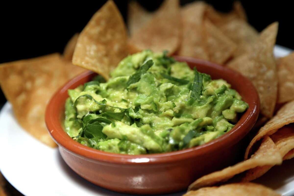 2) Guacamole With just five simple ingredients, you can seriously impress your guests. Also, it's basically a sin to not have guac. Seriously.