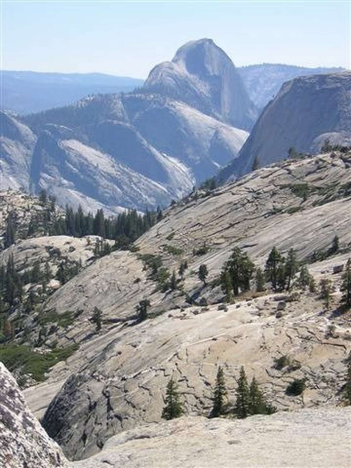 Yosemite's high country, including Tenaya Peak and Clouds Rest, is a breath of fresh air and a sure escape from the crowds at Half Dome. To reach Clouds Rest, often called the