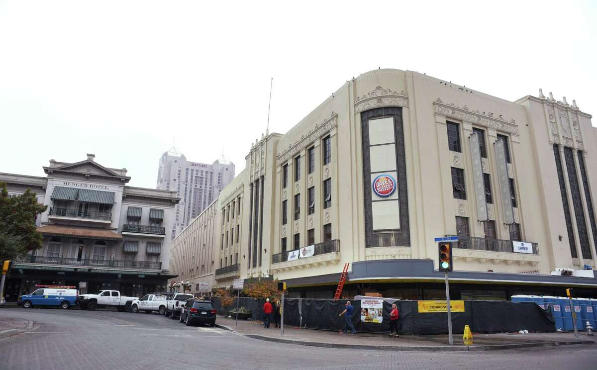 The renovated Joske's building in downtown San Antonio will house many new clients; Dave & Buster's will be among them. Dec. 11, 2015