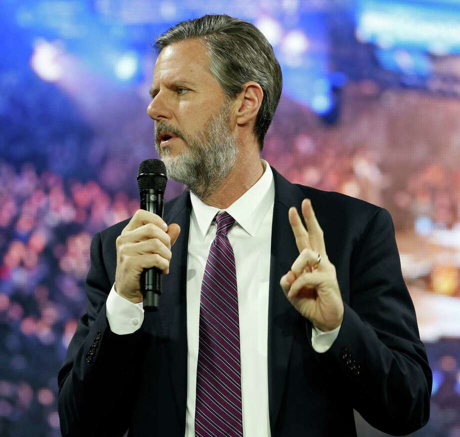 Liberty University president Jerry Falwell Jr. Falwell is proposing allowing students with conceal weapons permits to carry guns into the dorms on campus. Photo: Steve Helber /Associated Press / AP