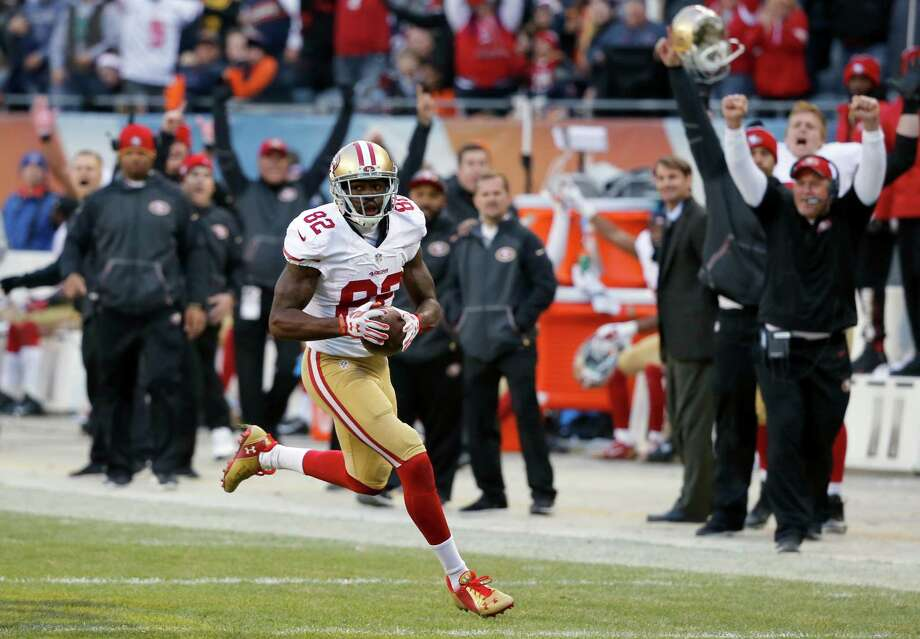 Torrey Smith. Photo: Charles Rex Arbogast / Associated Press / AP