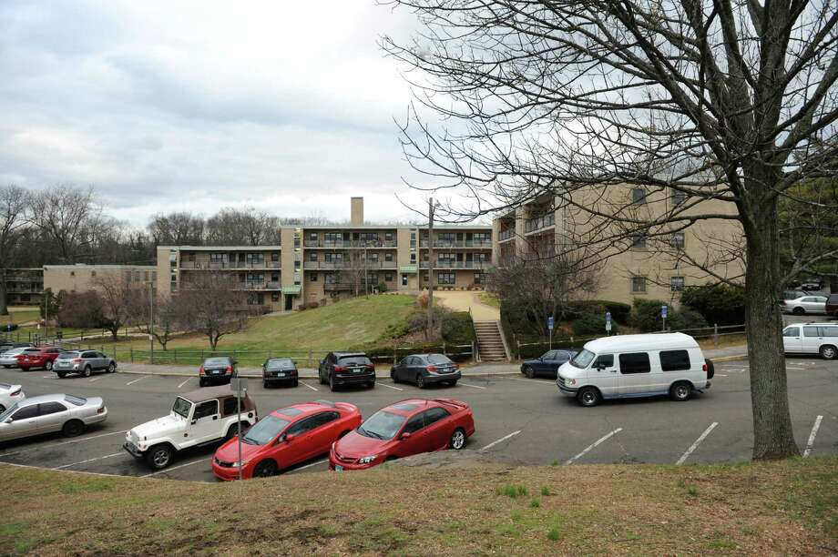 Armstrong Court's renovation could be moving ahead again due to a new strategy of phasing in improvements. Photo: Tyler Sizemore / Tyler Sizemore / Greenwich Time