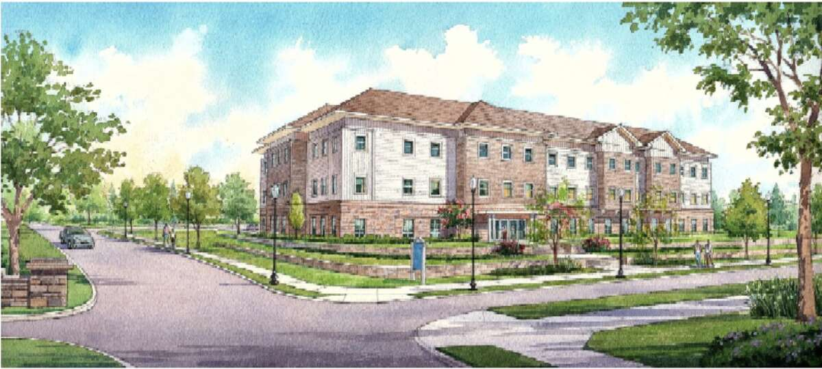Rendering of Saratoga Hospital's proposed medical building for Morgan Street in Saratoga Springs. (Provided by Matthew Jones).