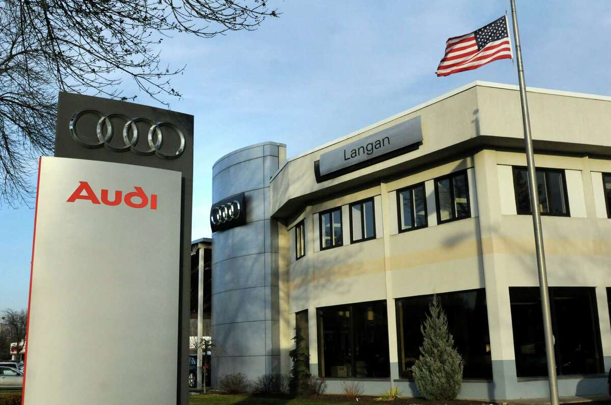 Audi Albany on Friday, Dec. 11, 2015, in Latham, N.Y. The Langan family sold their auto dealers to Miami businessman. (Cindy Schultz / Times Union)