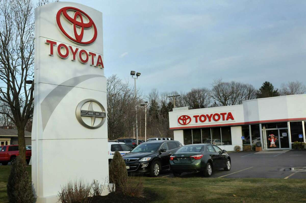 Northway Toyota on Friday, Dec. 11, 2015, in Latham, N.Y. The Langan family sold their auto dealers to Miami businessman. (Cindy Schultz / Times Union)