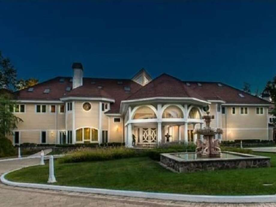 This property at 50 Poplar Hill Road in Farmington, Conn., is the most expensive rental in the state at $100,000 per month. Photo: Carmen Neagos /