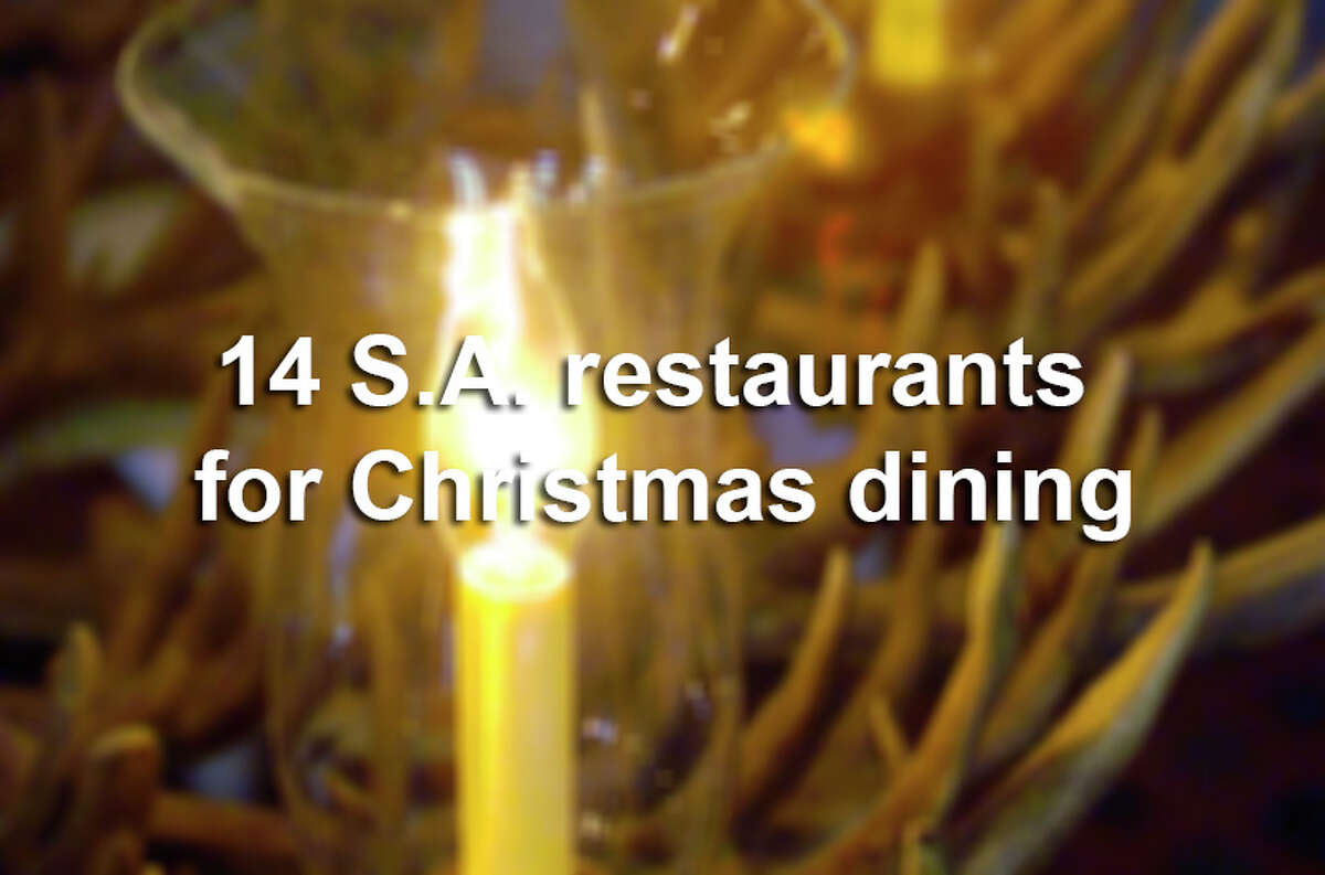 No matter your plans for Christmas Day, area restaurants are offering options to make your dining delicious.