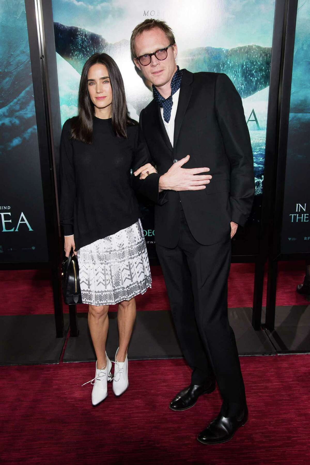 Jennifer Connelly and Paul Bettany attend the premiere of