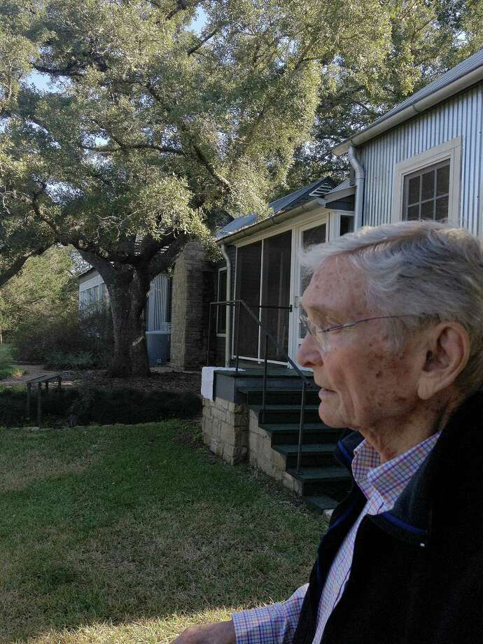 Leon Hale and his wife Babette bought their Winedale country place in the late 1980s. Photo: Joe Holley / Houston Chronicle