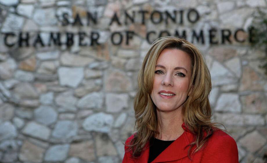Renée Flores will be the 2016 chairwoman of the San Antonio Chamber of Commerce.  Photo: John Davenport /San Antonio Express-News / ©San Antonio Express-News/John Davenport