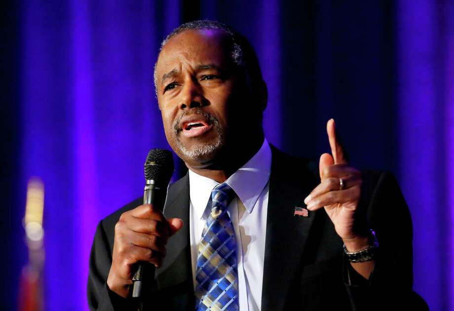 "The politicians who lie the most and least1. Ben CarsonPercent of statements ""mostly false"" and worse: 84 percentPercent of statements true or mostly true: 4 percentTotal statements evaluated*: 25Source: Politifact / New York Times*The statements not clearly determined as false or true are rated as ""half-true, half-false."" Photo: Matt York, STF / AP"