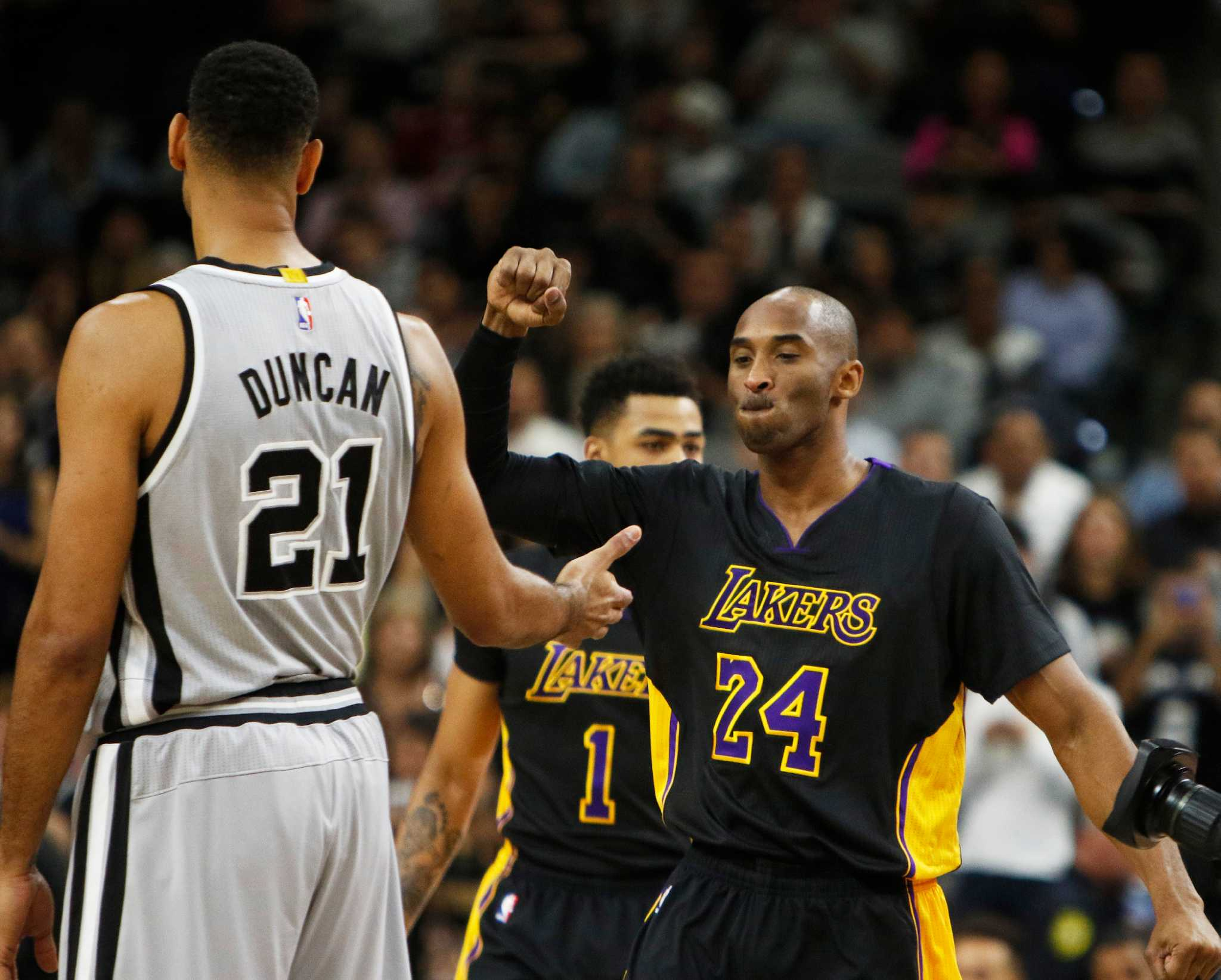 Kobe Praises Spurs Playoff Teams Snubs Duncan On