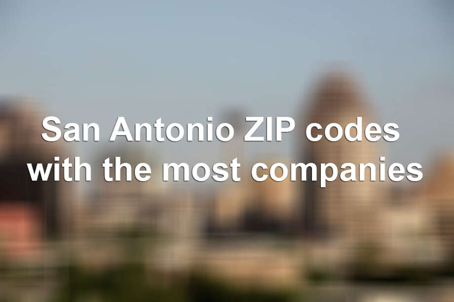 San Antonio ZIP codes with the most companies. Photo: JERRY LARA, File Photo / glara@express-news.net