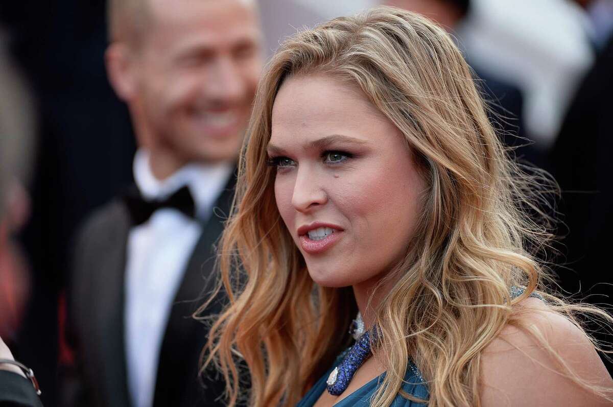 Ronda Rousey attends