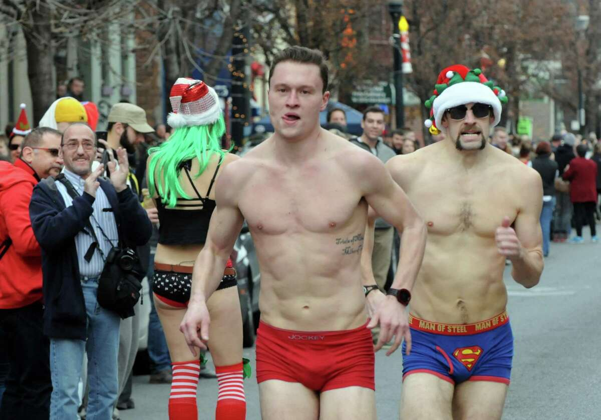 The Speedo: For at least one day, you can't go wrong wearing one.
