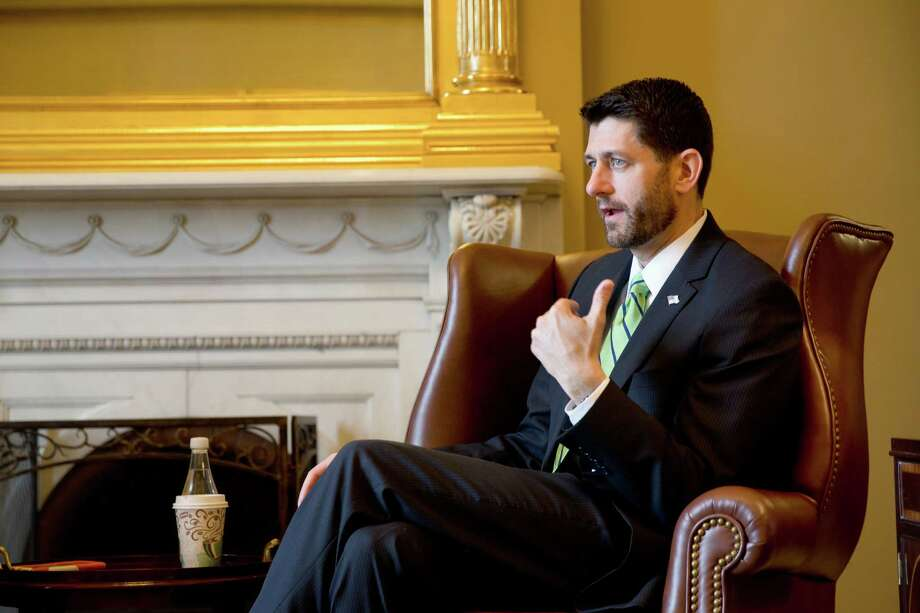 """House Speaker Paul Ryan, R-Wis., said he is concerned about the harshly negative presidential campaign dominated by Donald Trump. , and that the party must confront polarizing populism by promoting an """"inclusive† policy-focused agenda to counter any personality-driven run sure to cost Republicans the White House.(Stephen Crowley/The New York Times) Photo: STEPHEN CROWLEY, STF / NYTNS"""