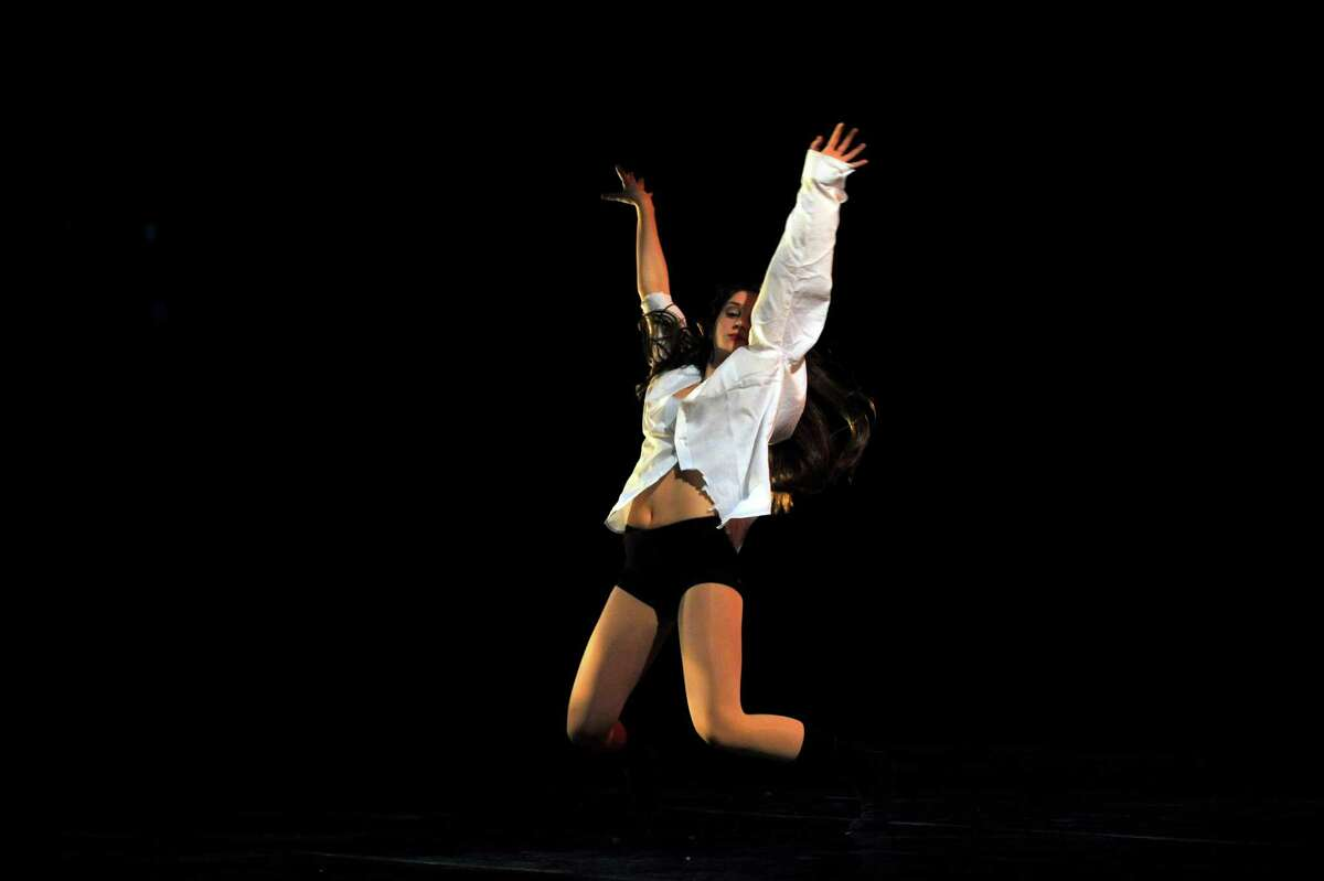 Carly Hecht's choreographed performance of