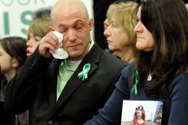 Jeremy Richman and Jennifer Hensel, parents of Avielle, one of the children killed in the Sandy Hook Elementary School shootings.