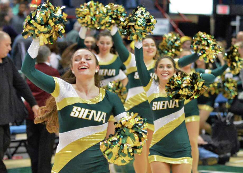 Siena basketballis back at the Times Union Center this Sunday to play Cornell at 2 p.m. View full schedule and get tickets. Photo: John Carl D'Annibale / 00034282A