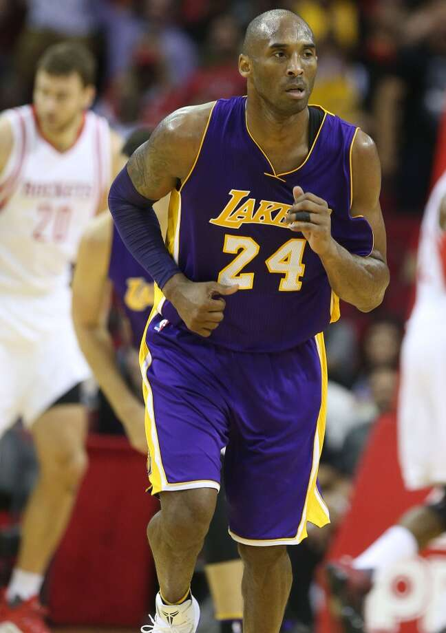 Sunday marks Kobe Bryant's final game against the Rockets.Click through the gallery to see his top games against Houston over his 20-year NBA career. Photo: Elizabeth Conley, Houston Chronicle