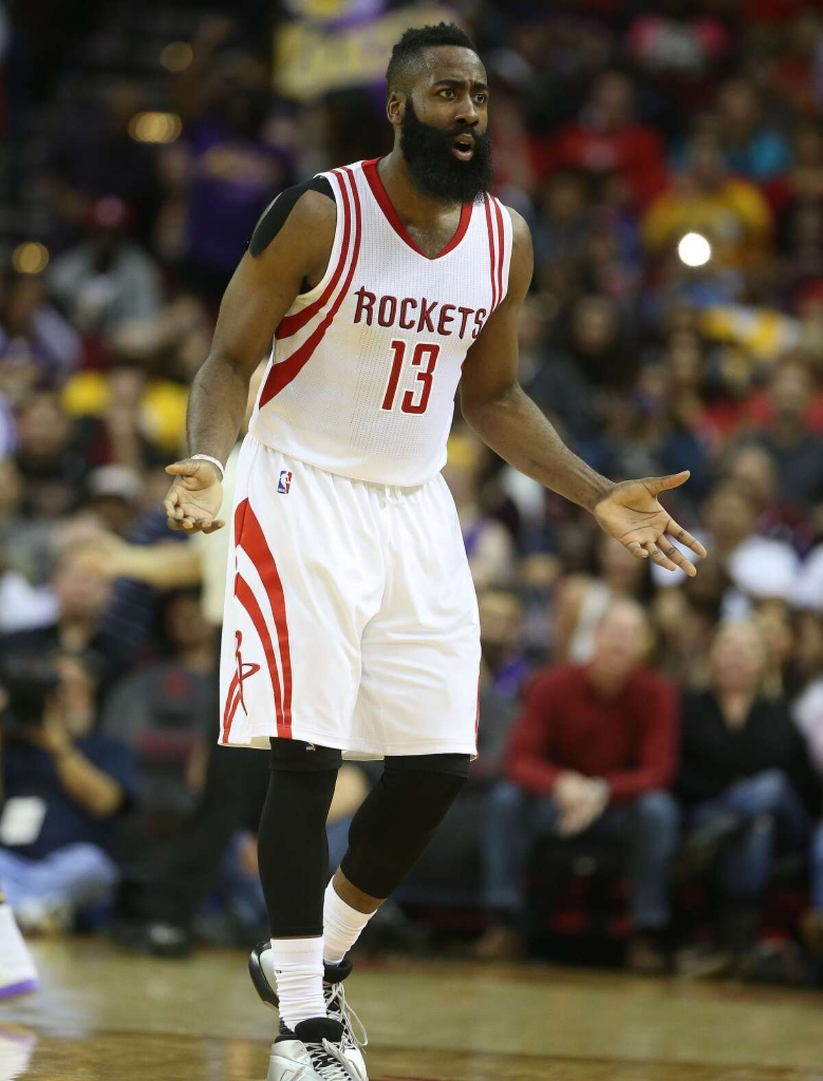 """The most popular Google searches in Texas in 2015 Houston Rockets guard """"James Harden"""""""