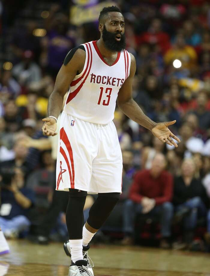 "The most popular Google searches in Texas in 2015Houston Rockets guard ""James Harden"" Photo: Elizabeth Conley, Houston Chronicle"