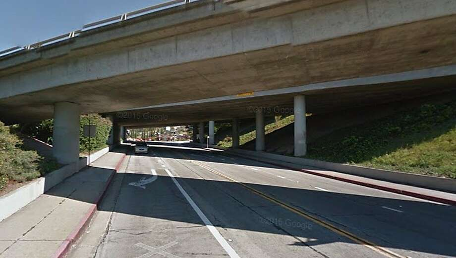 A driver was killed in a solo-vehicle wreck Sunday morning on 164th Avenue in Castro Valley. Photo: Google Maps