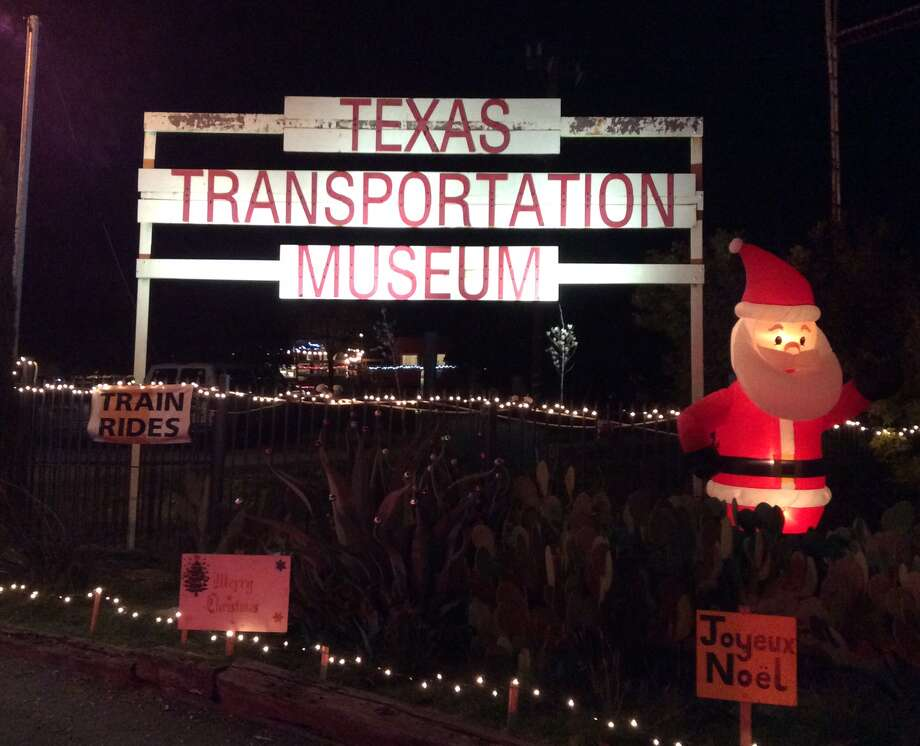The Texas Transportation Museum on Wetmore on northeast San Antonio sponsors Santa's Railroad Wonderland from 6-9 each Saturday and Sunday in December through Dec. 26. Train rides, a visit with Choo Choo Claus, watching HO model trains and seeing examples of modes of transpoportation one popular are all part of the festivities. Photo: Terry Scott Bertling / San Antonio Express-News