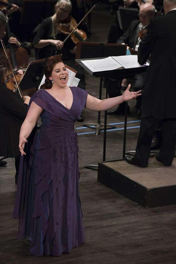 Soprano Jacqueline Piccolino Photo: Stefan Cohen