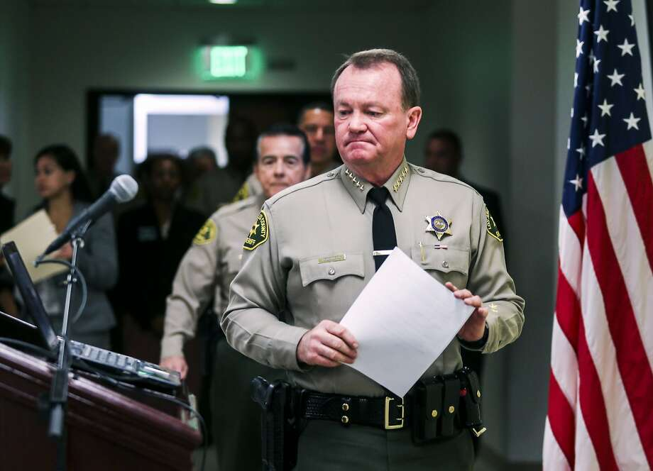"Sheriff Jim McDonnell says the investigation will be handled ""with the utmost professionalism."" Photo: Ringo H.W. Chiu, Associated Press"