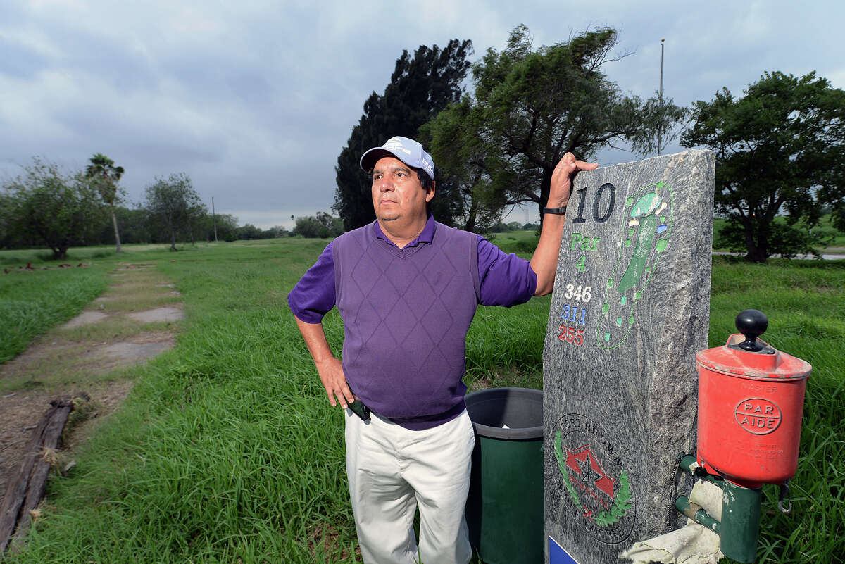 Robert Lucio ran the Fort Brown Memorial Golf Course, which he closed after negative perceptions of its location between the border fence and Mexico.