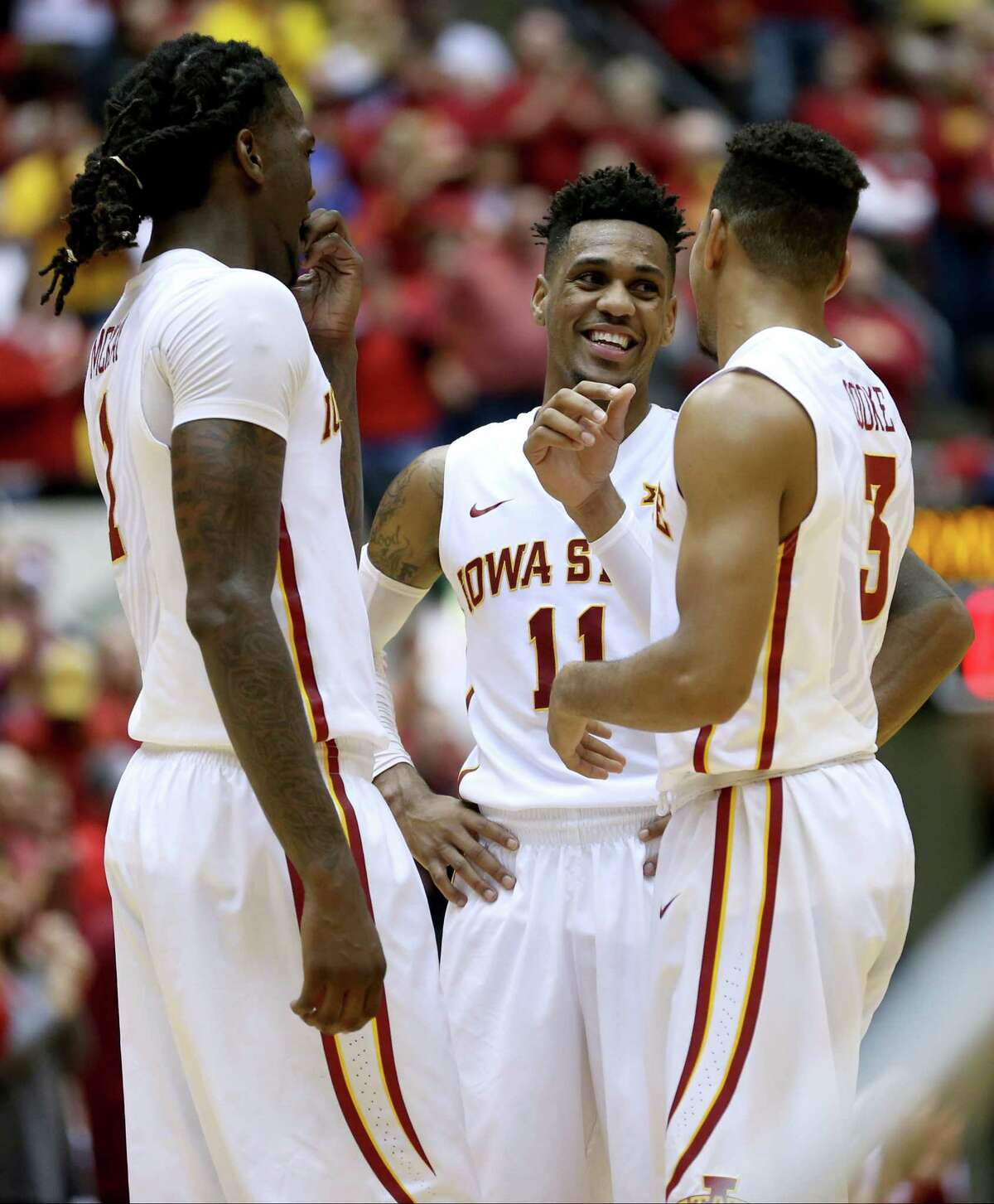 Iowa State Under new coach Steve Prohm, the Cyclones are living up to the lofty expectations they had before the season started. The balanced team (five players average double digits in scoring) is 9-0 to start the year.