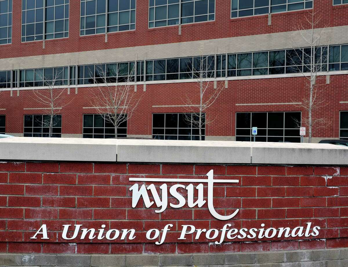 A view of the New York State United Teachers union headquarters on Monday, April 7, 2014, in Latham, N.Y. (Paul Buckowski / Times Union archive)