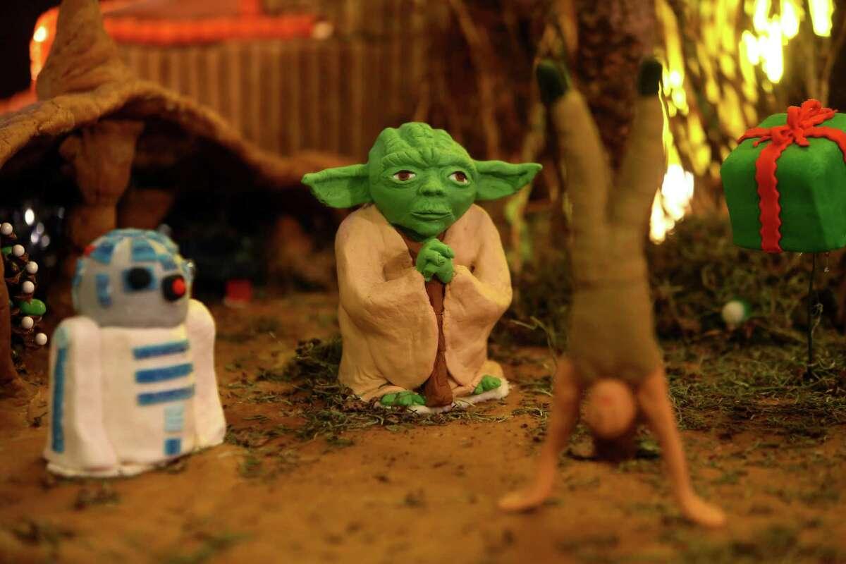 Star Wars Gingerbread Village: Now through Jan. 3
