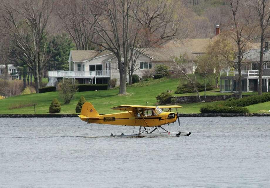 Seaplane landing on Candlewood Lake. 2015 Photo: Contributed Photo /CLA / Contributed Photo /CLA / News-Times Contributed