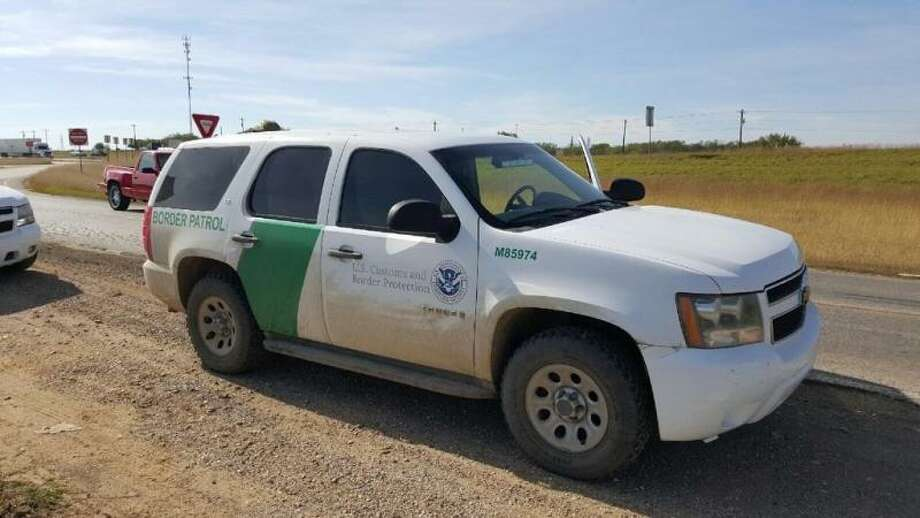Laredo Sector Border Patrol agents arrested a male subject attempting to smuggle illegal immigrants while using a cloned Border Patrol Tahoe on December 10, 2015. Photo: Border Patrol/courtesy