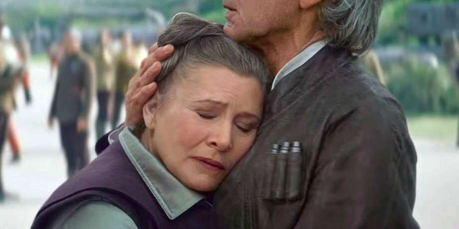 """Leia Organa in the newest """"Star Wars."""""""
