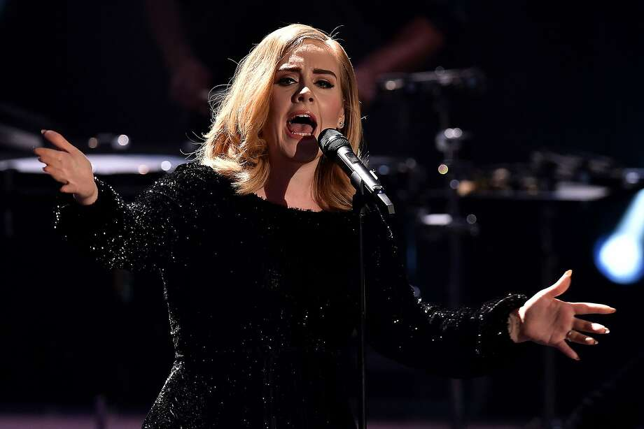 Adele has 3 dates Bay Area dates for her concert tour: the SAP Center at San Jose on July 30 and 31 and at Oracle Arena in Oakland on Aug. 2. Photo: Sascha Steinbach, Getty Images