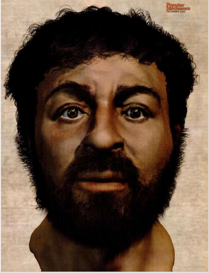 A team of scientists led by medical artist Richard Neave created what they think is a realistic depiction of Jesus Christ. Photo: Richard Neave