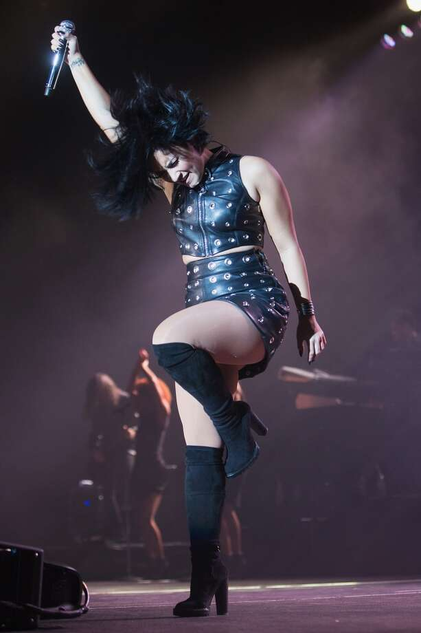 Demi Lovato had a banner year, stepping foot on a number of stages and showing a evolution in her style.  Keep clicking to see how Lovato kept the stage hot in a number of different outfits, from sexy to semi-conservative. Photo: Mat Hayward, Getty Images