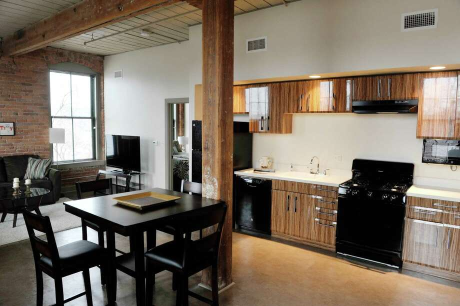 A View Inside One Bedroom Apartment At The Hudson Arthaus Apartments On Monday