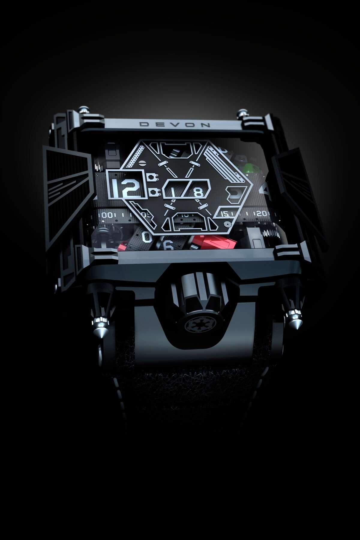 Devon Star Wars watch, $28,500, Devon Works
