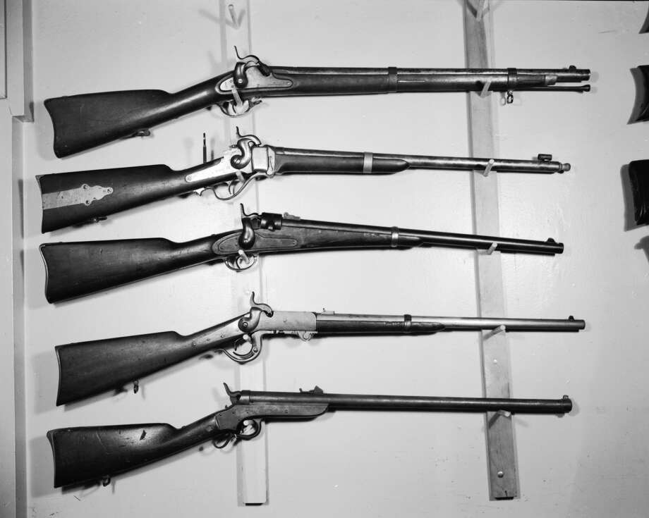 U.S. carbines through the yearsIn layman's terms, carbines are simply rifles with shorter barrels. This makes them much easier to carry around and fire. The U.S. military has a long history of wielding carbines to great effect.Keep clicking to see U.S. carbines used by the military. Photo: Orlando, Getty Images, Three Lions