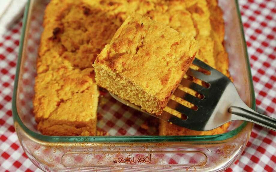 Sweet Potato Cornbread Photo: Karen Warren, Staff / © 2015  Houston Chronicle