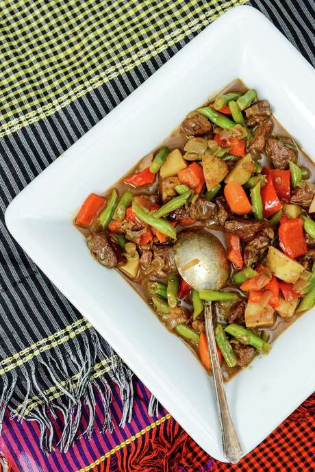 Beef and Many Vegetable Stew Photo: Dixie D. Vereen / The Washington Post