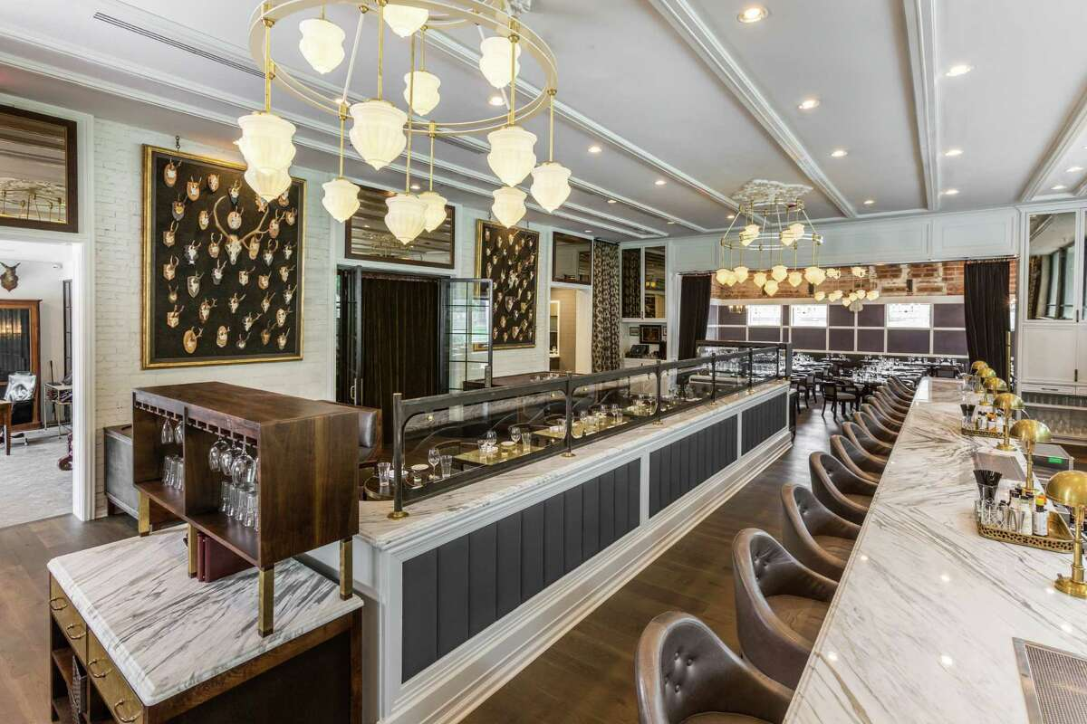 Interior of State of Grace, the new Ford Fry restaurant that opened at 3256 Westheimer in River Oaks.