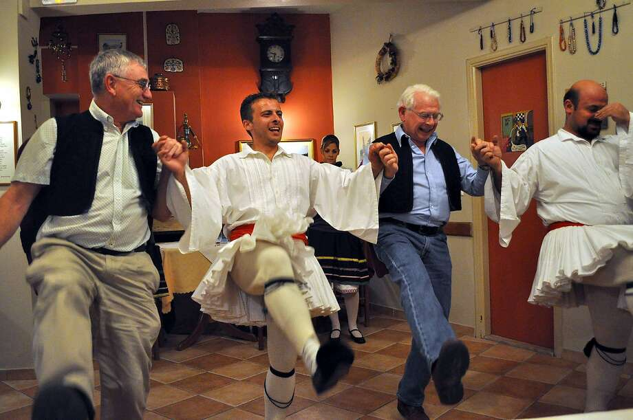 Wherever you are in Greece, ask locals where you might enjoy some live music and dancing.  RHR_Nafplio_Dancers2.jpg Photo: Ruth Ann Rouse, Rick Steves' Europe